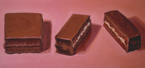 Little Debbie II, Oil on Canvas